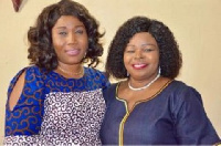 Lady Rev. Dr Abena Tay and Dr Mrs Beatrice Wiafe Addai