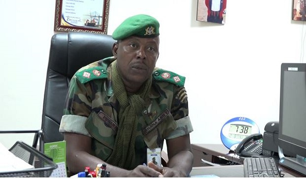 Tema Port Security Manager, Colonel Joseph Malik Punamane