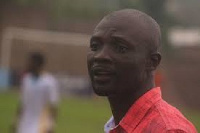 Head coach of Wa All Stars, Enos Kwame Adipah