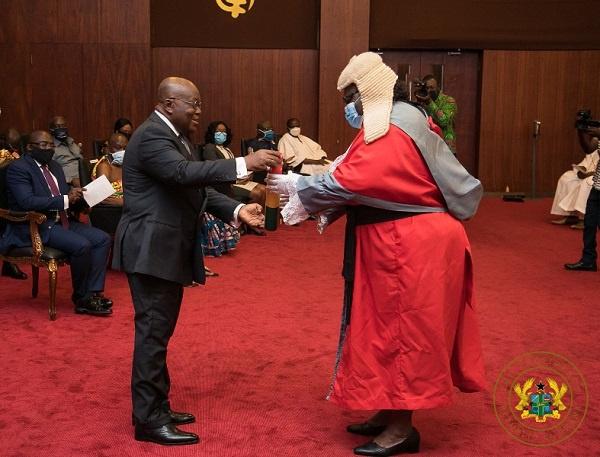 Justice Mensa-Bonsu joins Supreme Court Bench