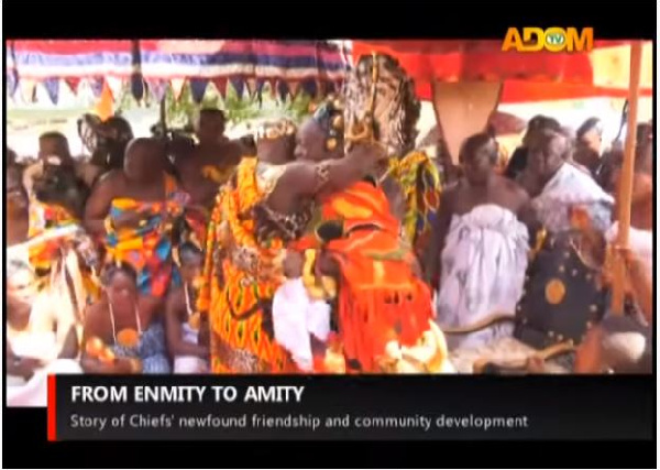 From enmity to amity: Story of chiefs' new found friendships and community development