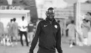 Samuel Amoah died July 23 after a short period of sickness