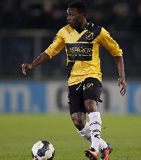 Thomas Agyepong made his debut call up to the Black Stars last year