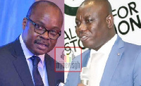 Isaac Adongo, NDC MP for Bolgatanga Central constituency and Governor, Bank of Ghana, Ernest Kwamina
