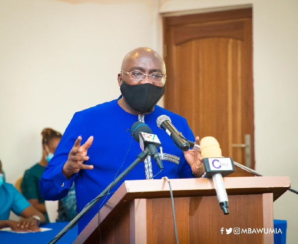 Govt has expended GH¢27 billion to implement social interventions - Bawumia