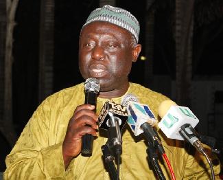 Former GFA president, Alhaji M.N.D Jawula