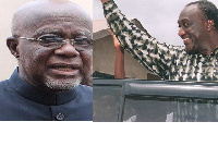 Hackman Owusu Agyemang,  (L) and Alan Kyeremanteng (R)