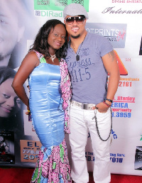 Van Vicker with Clarice Ford-Kulah