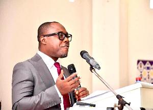 Associate Professor at the University of Ghana, Professor Ransford Gyampo