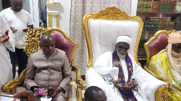 Ejurahene leads feuding Zongo factions to National Chief Imam to seal truce