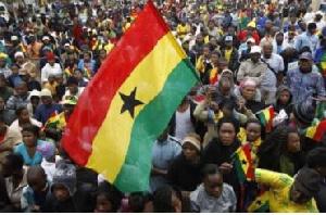 Ghanaians   Flag