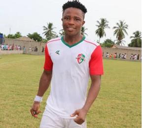 Karela United striker, Diawusie Taylor