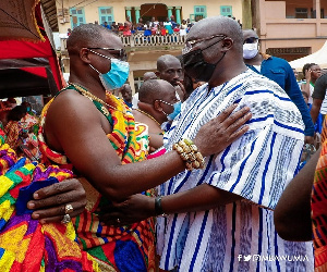 Prestea Chief Bawumia