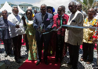 Mahama inaugurates Ghana's 1st Private medical school
