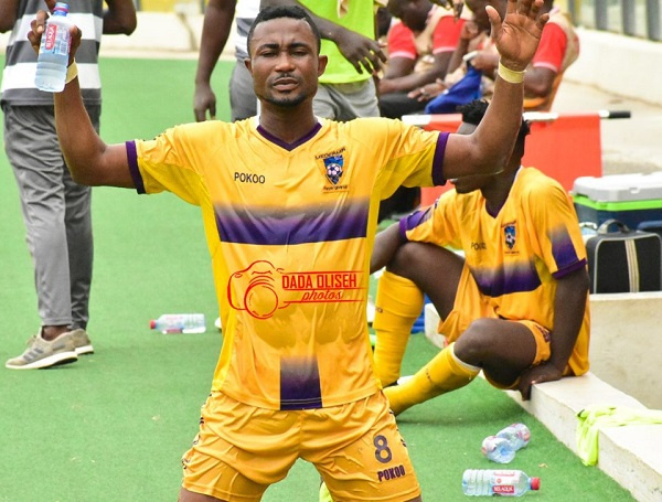 Opoku Agyemang steals a point for Medeama in draw against Berekum Chelsea