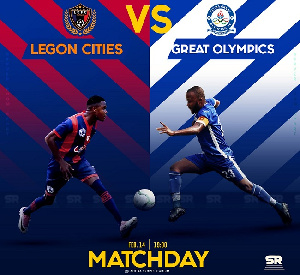 Legon Cities vs Great Olympics