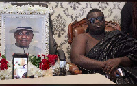 Bice Osei Kuffour held the service online on Friday, April 3