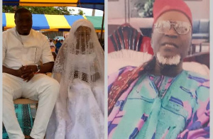 The funeral of the late Bissa Chief of  Fadama was held together with the daughter's wedding