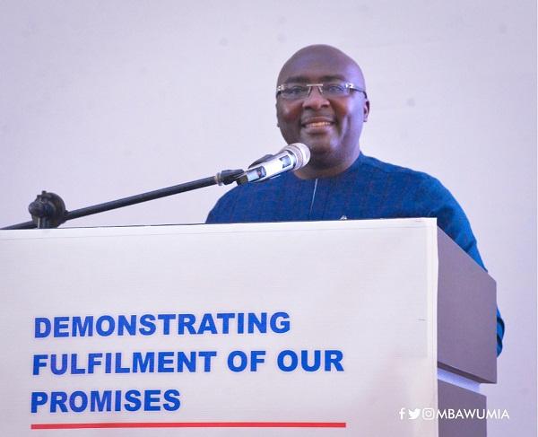 Ghana's Vice President, Dr Mahamudu Bawumia