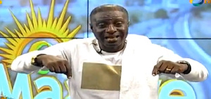 Host of Onua FM morning show, Captain Smart