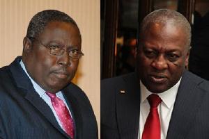 Martin Amidu And Former President Mahama