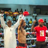 Ghanaian boxer, George Ashie