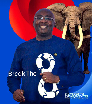 A sample of the new posters for Dr. Bawumia for presidency in 2024