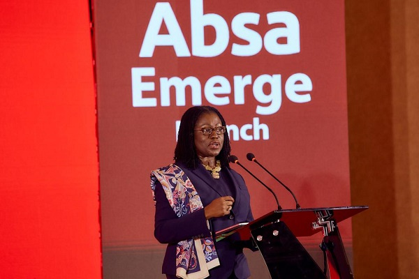 Second Deputy Governor of the Bank of Ghana,  Elsie Addo Awadzi