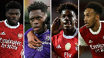 Arsenal has a number of African players on their books