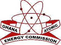 Logo of Ghana Atomic Energy Commission