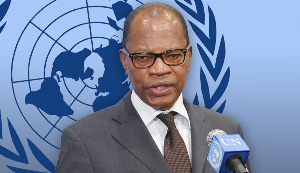 Dr. Mohamed Ibn Chambas, Special Representative of the United Nations General Secretary,