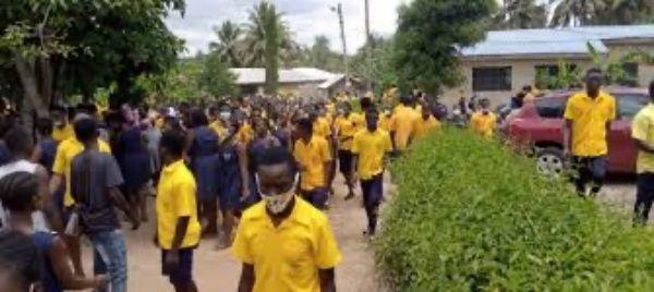 Bright SHS Headmaster denies ordering students to stop writing exams