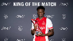 Kudus Mohammed voted into Eredivise Best XI of the Week