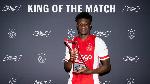 Ajax midfielder Kudus achieves impressive passing record against Waalwijk