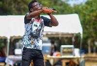 Kaasolo performing 'Waakye' at the Waakye Summit