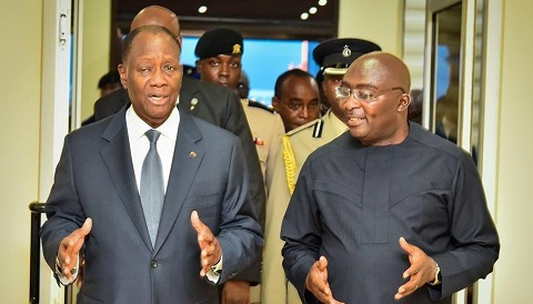 Ivorian leader Alhassane Ouattara and some Heads of State arrive in the country ahead of the meeting