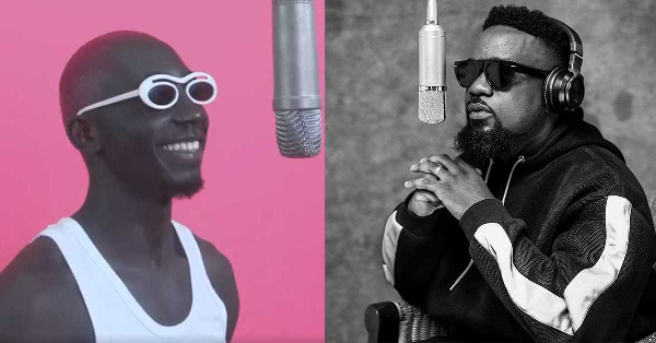 Bosom P-Yung visits Sarkodie in his home