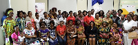 Some participants of the workshop with officials of Access Bank