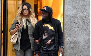 Sulley Muntari With Wife
