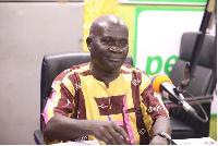 Prof. Kofi Agyekum, Dean of School of Performing Arts at University of Ghana