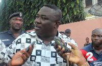 Joseph Nii Laryea Afotey-Agbo, Greater Accra Regional Minister