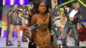 Some Ghanaian celebrities at the GMA-UK