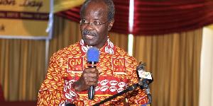 Papa Kwesi Nduom GN BANK SHIRT