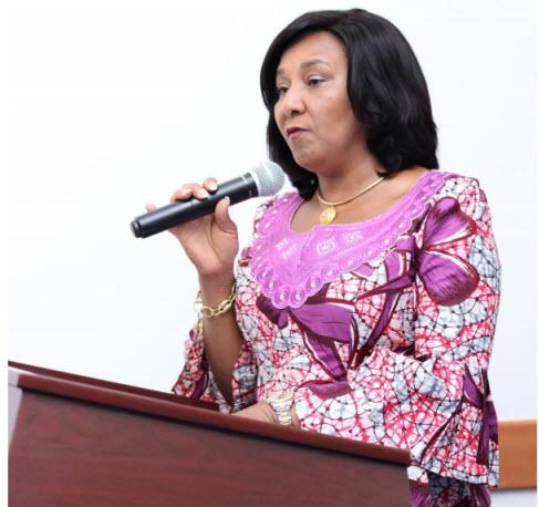 Former Deputy Minister of Finance, Mona Quartey