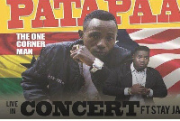 Patapaa is set to rock Liberia at a live concert with Stay Jay and other top Liberian artistes