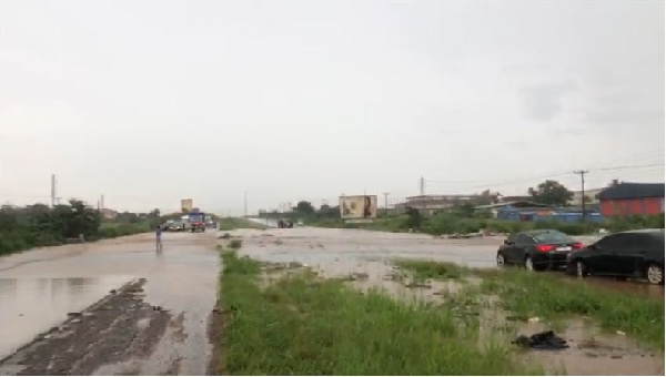 Hours of rains cause havoc in Sekondi Takoradi Metropolis