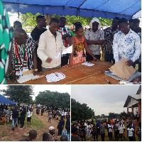 Kwame Governs Agbodza will be representing Adaklu constituency again in Parliament