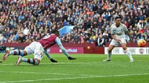 Jordan Ayew scores his first goal since joining Aston Villa