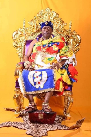 President of the National House of Chiefs, Ogyeahoho Yaw Gyebi ll