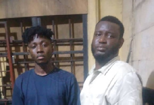 The two suspects currently in police custody
